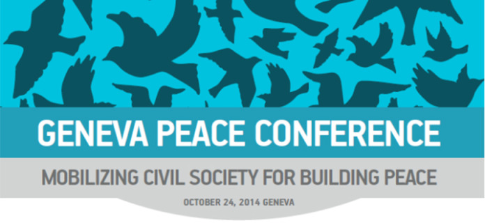 "Geneva Peace Conference on ""Mobilizing Civil Society for Building Peace"""