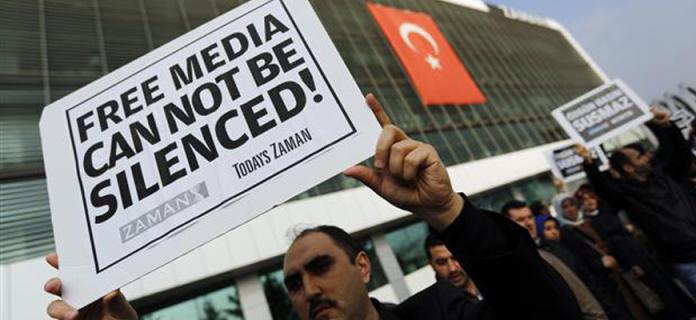 EU condemns detention of Turkish Journalists