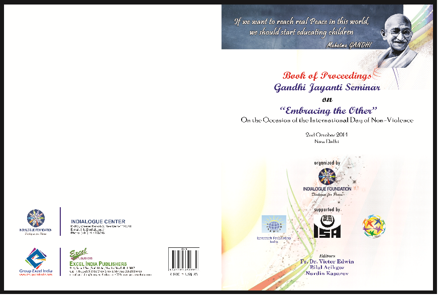 Book proceeding of Gandhi Seminar