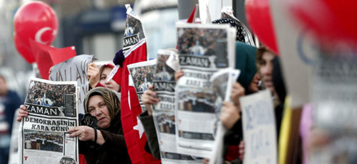 The New York Times covered Fethullah Gulen's Opinion Article