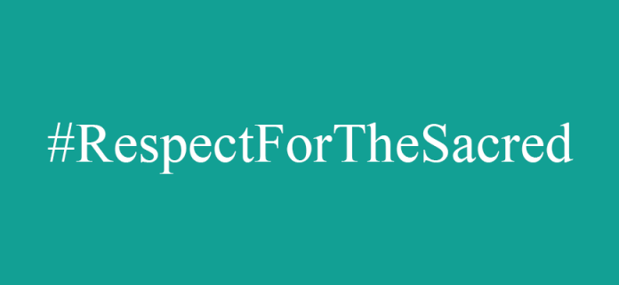 Freedom of Expression in the line of #RespectForTheSacred