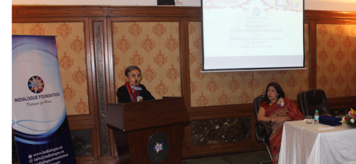 The speech of Prof. Hema Raghavan at International Women's Day's Celebration
