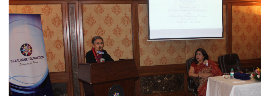 The speech of Prof. Hema Raghavan at International Women's Day's Celebration