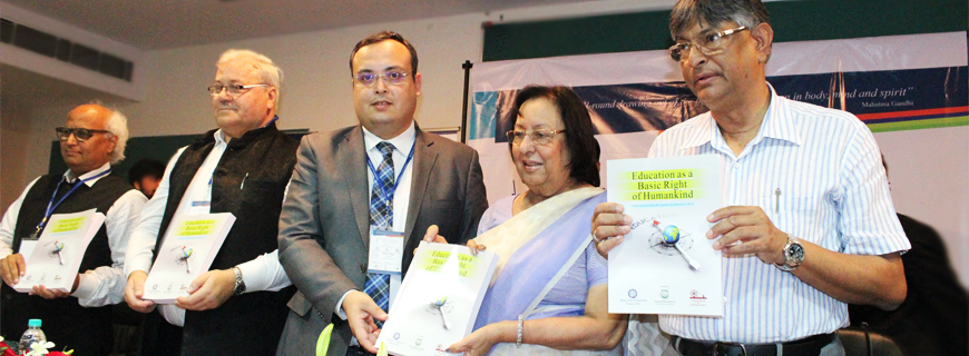 Int'l Gandhi Jayanti Conference on 'Education as a Basic Right of Humankind'