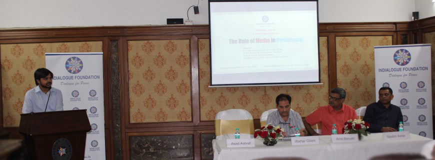 "Panel Discussion on ""The Role of Media in Democracy"""