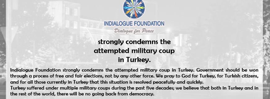 Statement on recent developments in Turkey