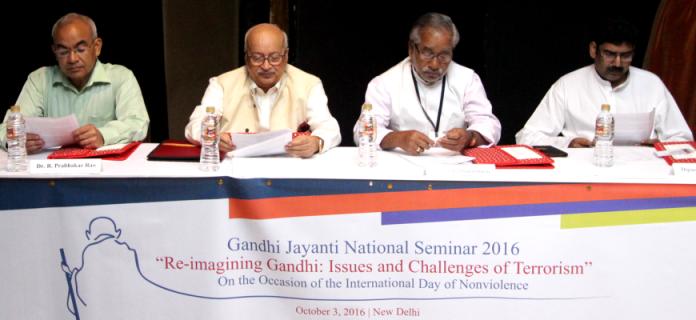 Gandhi Jayanti National Seminar 2016