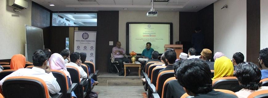 Prof Ebrahim Moosa speaks at Indialogue Foundation
