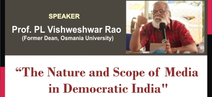 Lecture on The Nature and Scope of Media in Democratic India