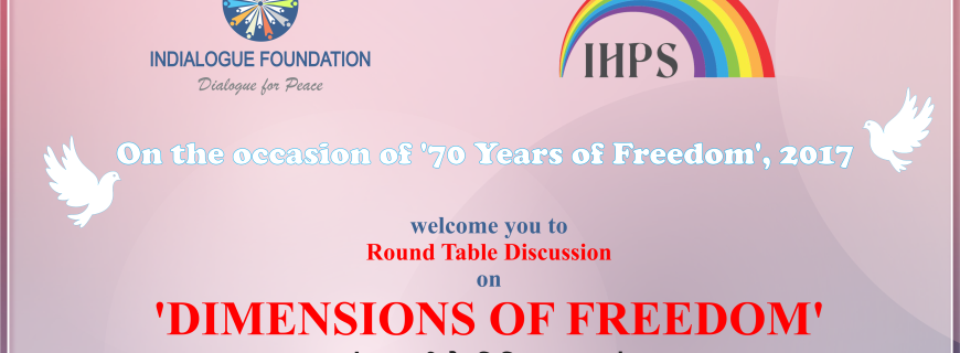 A roundtable discussion on Dimensions of Freedom